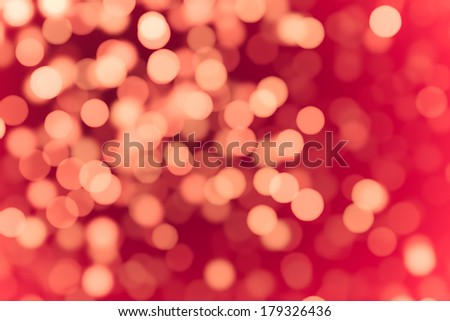 Abstract background. Representation of love. De-focused particles or lights. - stock photo