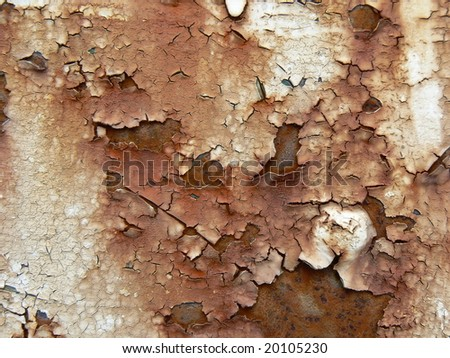 Abstract background - rusting - stock photo