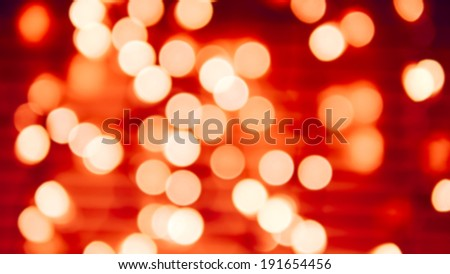 Abstract Background Showing  Defocused Lights.