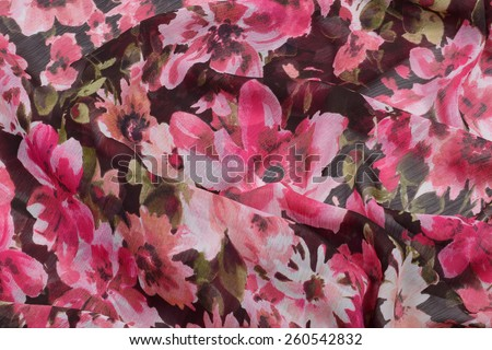 abstract background, silk texture blossom - stock photo