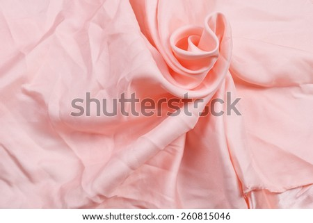 Abstract background, silk texture blossom