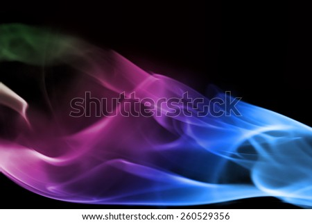 abstract background smoke - stock photo