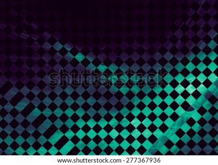 Abstract background, the subject -race, car, flag, rally. It is a stylized checkered flag. - stock photo