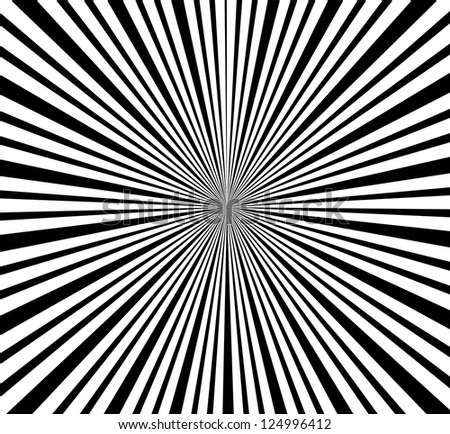 Abstract background, the sun's rays - stock photo