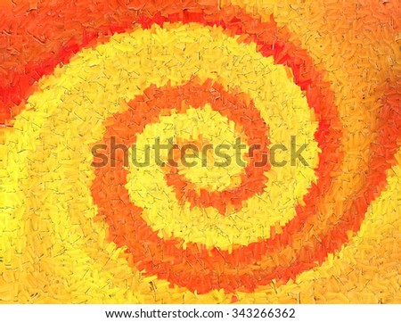 Abstract  background,Twirl Wallpaper, Textures,Painting - stock photo
