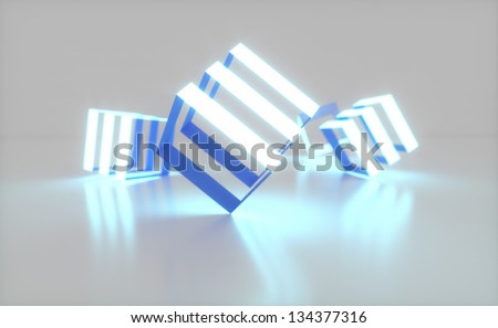 abstract background with a field for text - stock photo