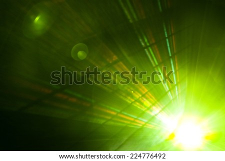 Abstract background with beautiful rays of light - stock photo