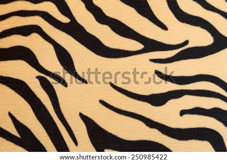 abstract background with Bengal tiger texture - stock photo