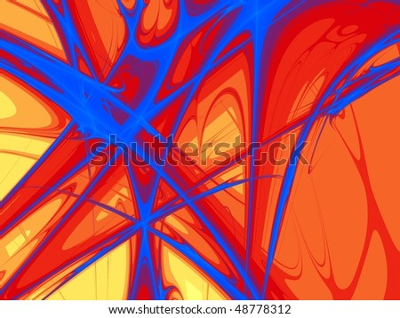 Abstract background with broken effect