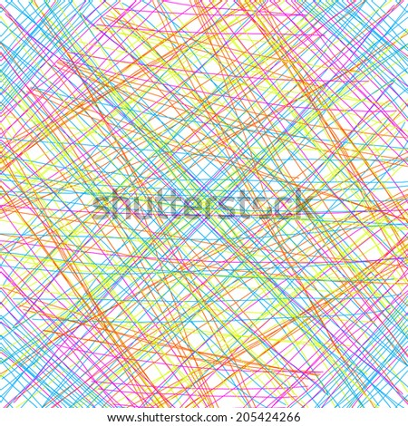 Abstract background with color thin line - stock photo