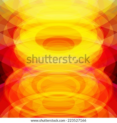 Abstract background with frame and colorful translucent circles. - stock photo