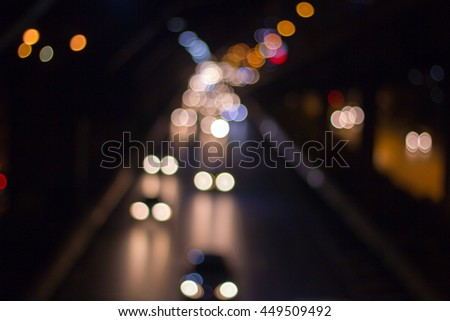 Abstract background with light Bokeh ,Abtract light Background - stock photo