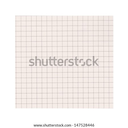 Abstract background with math paper