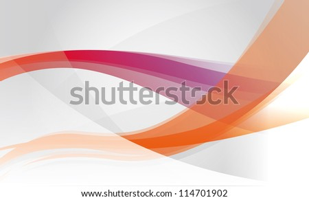 Abstract background with orange and purple waves/Abstract Background