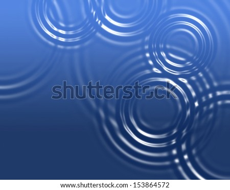 Abstract background with radial waves - stock photo