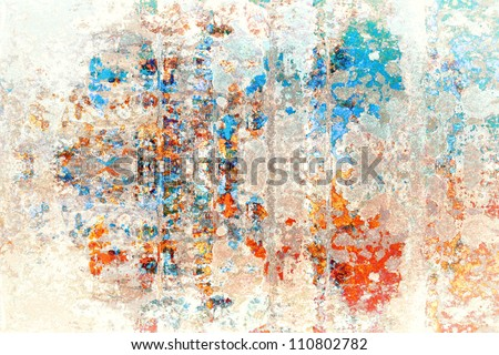 Abstract background with rusty pattern - stock photo