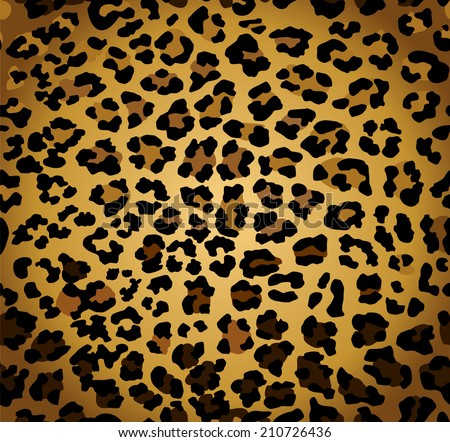 Abstract background with seamless leopard print