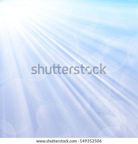 Abstract background with shining light - stock photo