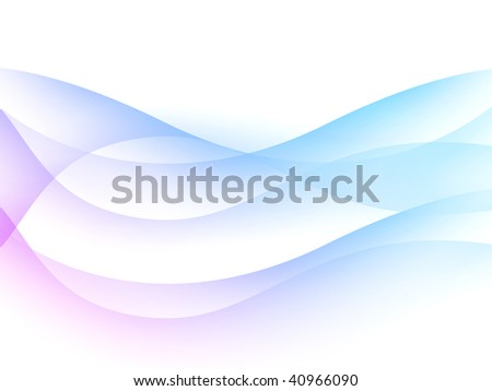 Abstract background with shone bright multi-coloured lines - stock photo