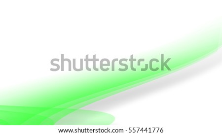 abstract background with smooth lines (green)