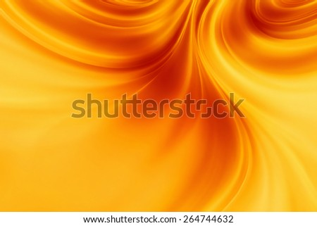 abstract background with smooth lines of fire - stock photo
