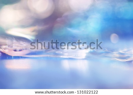 Abstract background with swirls and circles. macro shot of colorful liquids - stock photo