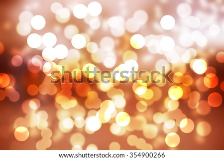 abstract background with twinkle Bokeh - stock photo