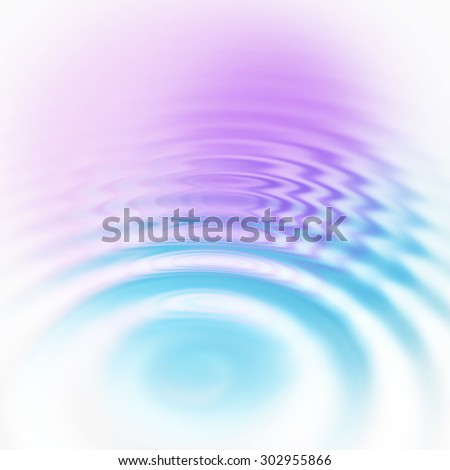 Abstract background with water ripples - stock photo