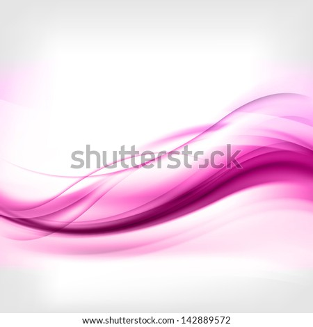 abstract background with waves and lines - stock photo