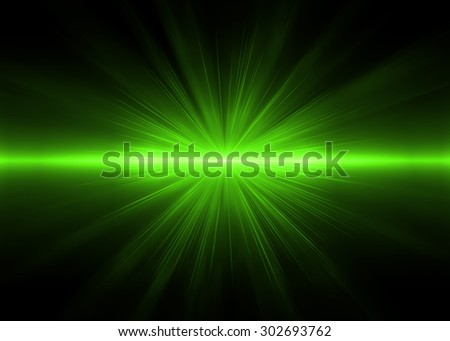 Abstract backgrounds green lights (super high resolution) - stock photo