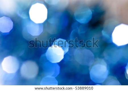 abstract beautiful defocused light background - stock photo