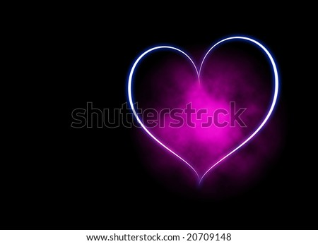 abstract beautiful heart corazones background