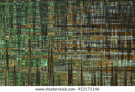 abstract black and green background