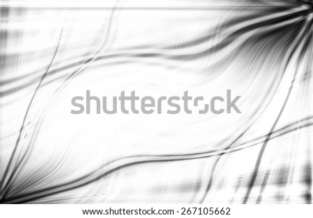 abstract  black and white   background with motion  ray technology