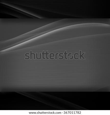 Abstract black background illustration - stock photo