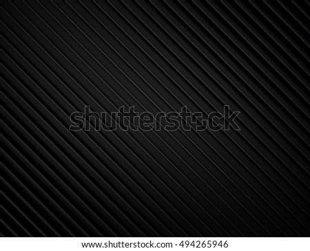 abstract black background with lines. 3d rendering geometric polygons.