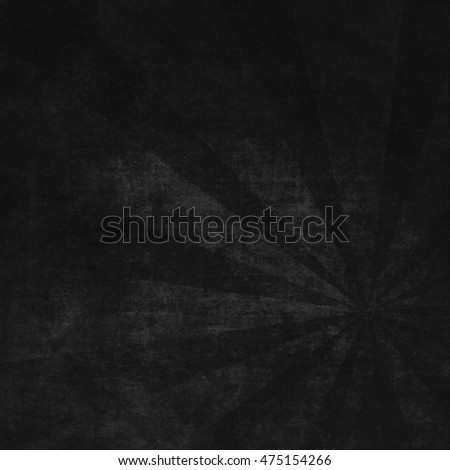 Abstract black background with scratches. Vintage grunge background texture elegant monochrome background design. Grungy textured blackboard.