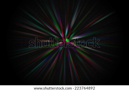 abstract black color background with motion blur
