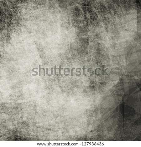 Abstract black grunge texture - stock photo