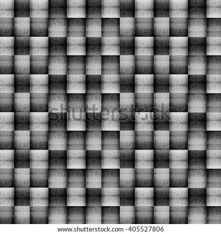 abstract black texture - seamless fabric pattern - stock photo