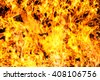 abstract blaze fire flame texture for background use on high resolution - stock photo