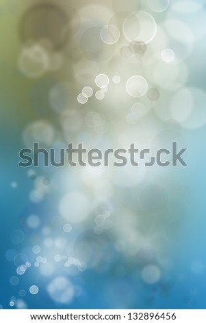 Abstract blue and brown tone background - stock photo