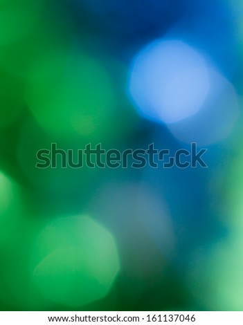 abstract blue and green bokeh. texture - stock photo