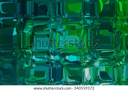 Abstract blue and green creative background