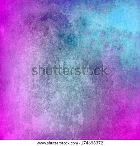 Abstract blue and purple grunge texture for background - stock photo