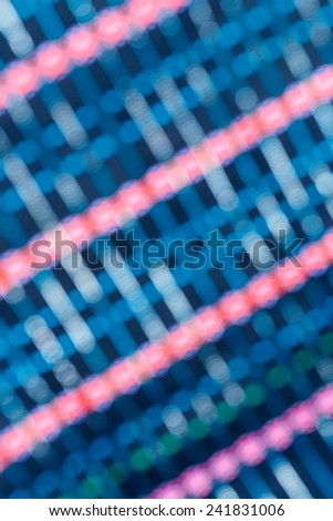 Abstract blue background blurred