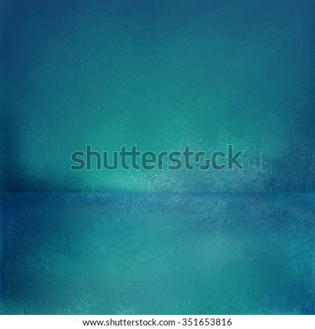 Abstract blue background, empty room interior, wall floor reflection. Stage, studio, 3d room or box product display. Interior room floor and walls, sales ad background, dramatic presentation design  - stock photo