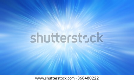 abstract blue background. explosion star. - stock photo