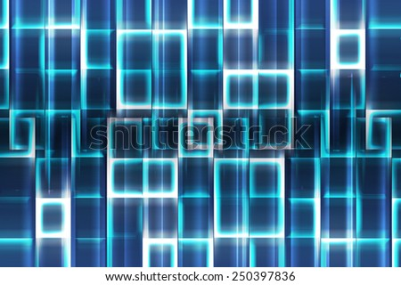 Abstract blue background for design - stock photo