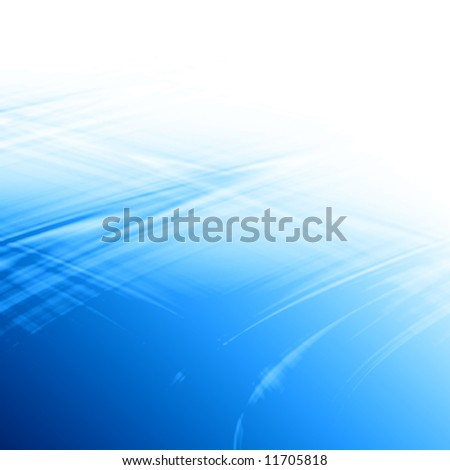 abstract blue background formed by white and blue - stock photo